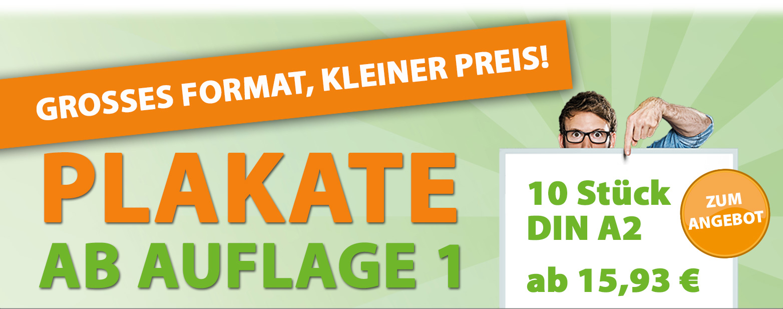 Printmeister Poster Angebote