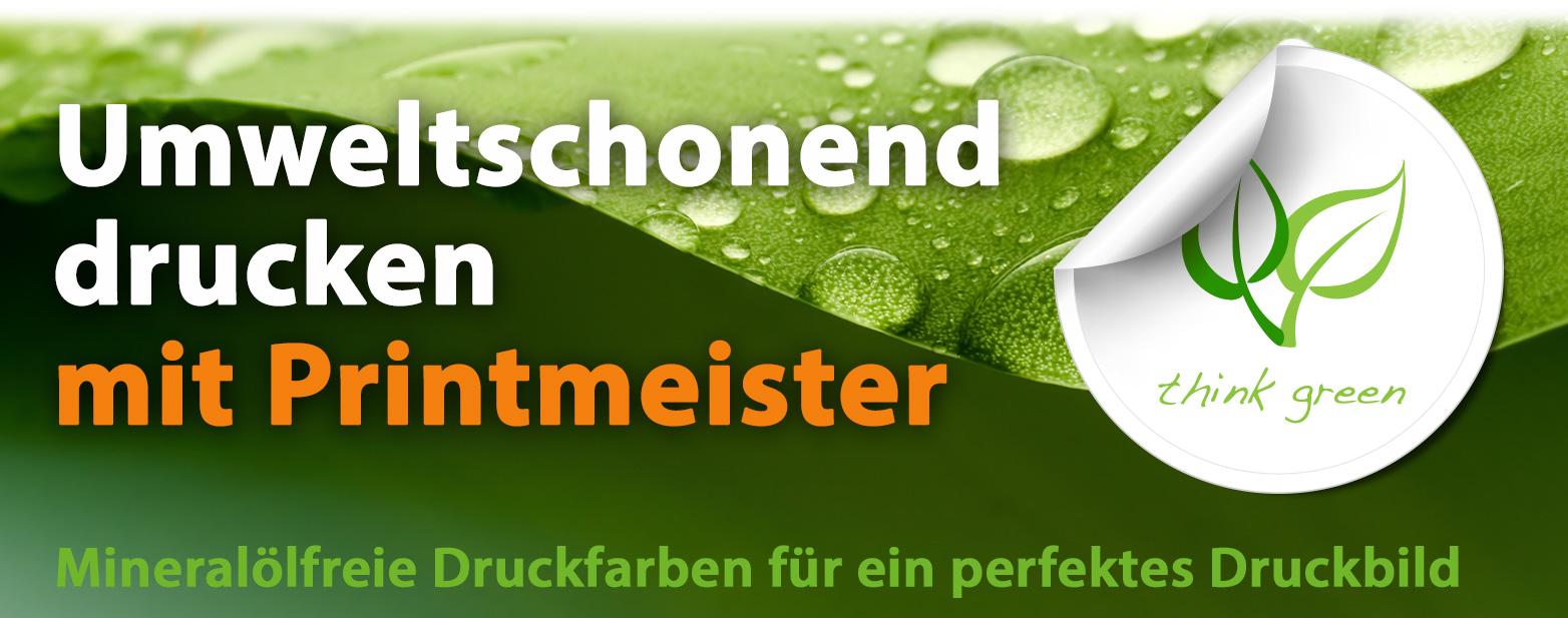 Printmeister Umwelt